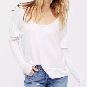 FREE PEOPLE WE THE FREE Layered Look Magic Tee